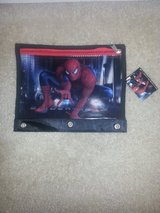 NWT Spiderman Three-3 Ring Pencil Pouch with Zipper in Camp Lejeune, North Carolina