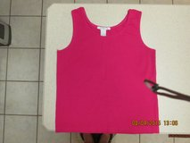 Ladies Size Small Pink Sleeveless Top - Gently Used in Kingwood, Texas