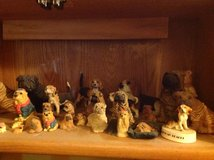 Dog figurines in Fort Knox, Kentucky