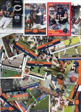 100 Card Lot of Chicago Bears Football cards - 100 Different Players - No Duplicates in Oswego, Illinois