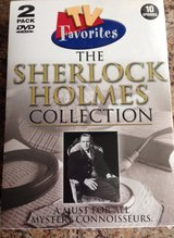 Sherlock Holmes Collection DVD Set - New in Package in Aurora, Illinois