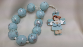 Blue Rosary Favor in Lockport, Illinois