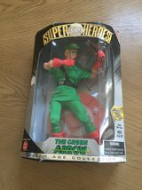 The green arrow action figure in Fort Bliss, Texas