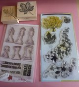 Leaves and Chess Rubber Stamps Code 67 in Lakenheath, UK