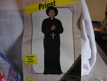 adult Halloween Costume Priest in Tinley Park, Illinois