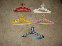 Clothing hangers in Camp Pendleton, California