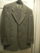 2 Men's Suits 38R & 38S 31W in Chicago, Illinois
