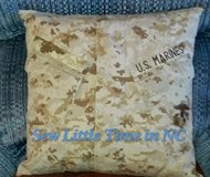 USMC MARPAT Desert Uniform Pillow or Pillow Cover in Cherry Point, North Carolina