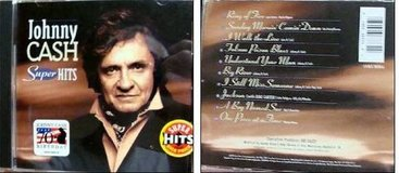 JOHN CASH COLLECTOR CD AND vinyl LP in Naperville, Illinois