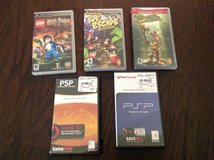 PSP games (lot of 5) in Byron, Georgia