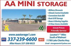 AA MINI STORAGE in Fort Polk, Louisiana
