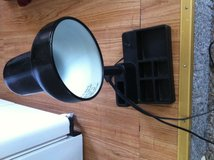 Black desk light in Fort Riley, Kansas