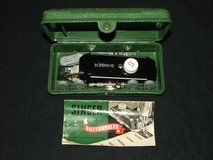 Vintage Singer Buttonholer Attachment 160506 in Case with Instructions in Glendale Heights, Illinois