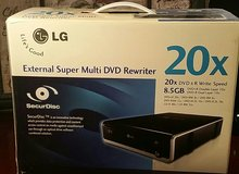 LG External Super Multi DVD Rewriter 20x in Bolingbrook, Illinois