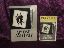 "Twiggy and Tommy Tune: ""My One And Only"" Souvenir Program and Playbill in Aurora, Illinois"