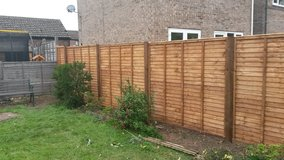 fence need replacing???? call garden rescuers in Lakenheath, UK