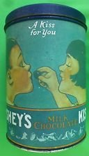 """VIINTAGE COLLECTIBLE HERSHEY'S """"A KISS FOR YOU"""" TIN CAN in Alamogordo, New Mexico"""