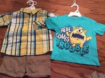 ***REDUCED***BRAND NEW***3 Piece Short Set For Boy***SZ 2T in Cleveland, Texas
