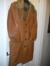 TAN WILSON LEATHER COAT 3/4 LENGTH in Chicago, Illinois