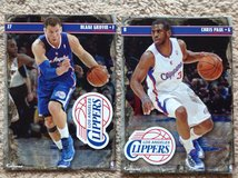 2 - L.A. Clippers FATHEADs in Camp Lejeune, North Carolina