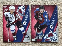2 - Colorado Avalanche FATHEADs in Camp Lejeune, North Carolina