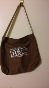 Chocolate M&M tote in Spring, Texas