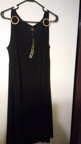 sleeveless black dress in The Woodlands, Texas