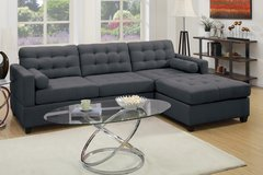 SLATE BLACK SECTIONAL FREE DELIVERY in Camp Pendleton, California