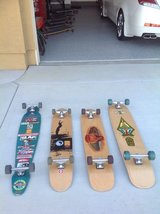 Classic Longboard Skateboards in Fairfield, California