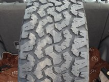 1- Used 235/70R16 BF Goodrich All Terrain T/A LR C Tire 4 Sale in Joliet, Illinois