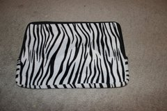 ***Zebra Striped Zippered Laptop Sleeve*** in The Woodlands, Texas