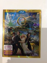 New! Blue-Ray Disney Oz The Great and Powerful in Clarksville, Tennessee