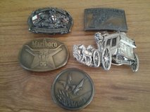 western belt buckles in Lakenheath, UK