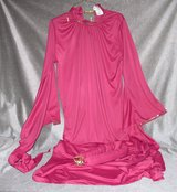 Pink Costume with Head Piece by Charades, Size Medium in Lawton, Oklahoma