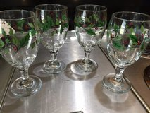 4 Christmas Drinking Goblets in Fort Campbell, Kentucky