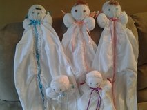 Baby Bed Dolls New Made by Crafter in Plainfield, Illinois