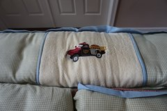 Wendy Bellissimo Crib Bedding: Vintage Fire Truck in Aurora, Illinois