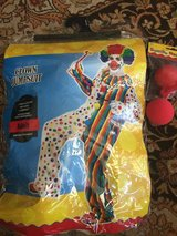 (Adult) CLOWN Halloween Costume in Baytown, Texas