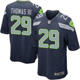 "EARL THOMAS III Seahawk Blue Stitched Nike NFL Adult Medium Jersey""s (NEW) in Tacoma, Washington"