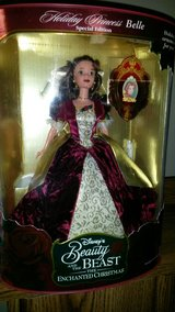 1997 Beauty and the Beast Enchanted Christmas Barbie in Algonquin, Illinois