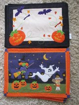 Halloween Placemats, 2 sets for sale, Clean and Nice!! in Naperville, Illinois
