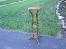 Wood Plant Stand in Bolingbrook, Illinois