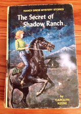 Vintage Mystery Nancy Drew The Secret of Shadow Ranch 1965 Yellow Cover in Naperville, Illinois