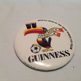 Vintage 1994 Guinness Ireland Beer Button Pin Official Beer Irish World Cup Team in Houston, Texas