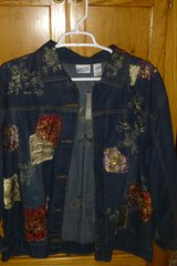 Chico's Denim Jacket -NEW in Naperville, Illinois
