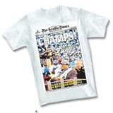SEATTLE SEAHAWKS - Seattle Times Headline Super Bowl Championship T-Shirt ** NEW in Tacoma, Washington