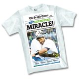 SEATTLE SEAHAWKS - 2015 Seattle Times Headline NFC Championship T-Shirt *** NEW in Tacoma, Washington