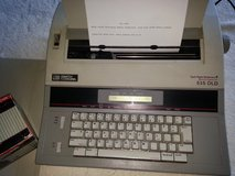 Smith Carona Portable Electric Memory Typewriter with extra ribbon in Naperville, Illinois