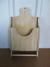 WOOD MAGAZINE RACK w/DOWEL in Aurora, Illinois