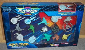 Micro Machines Star Trek Set #1 in Plainfield, Illinois